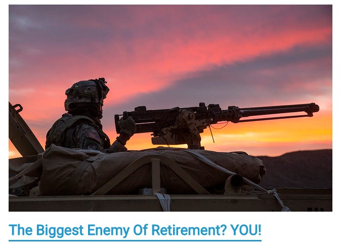 Biggest enemy of retirement