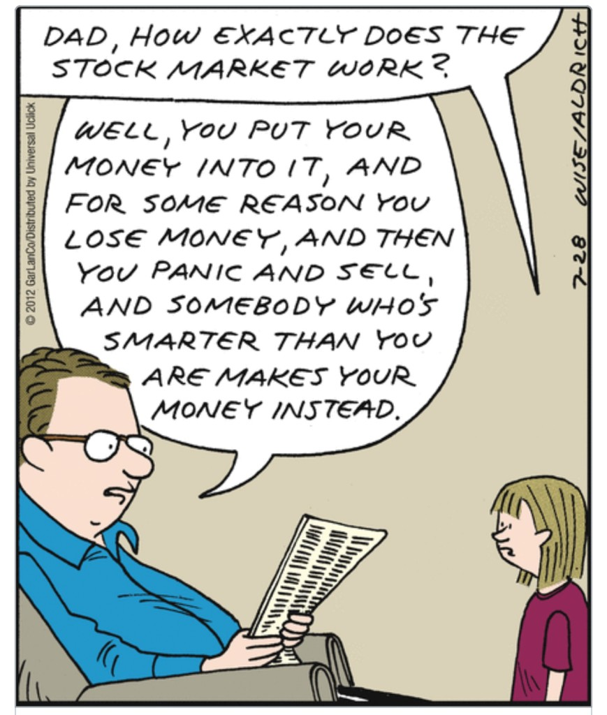 Stock Market Comic