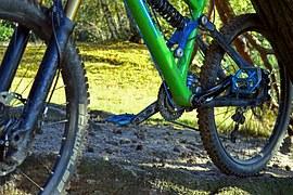 Mountain bike break