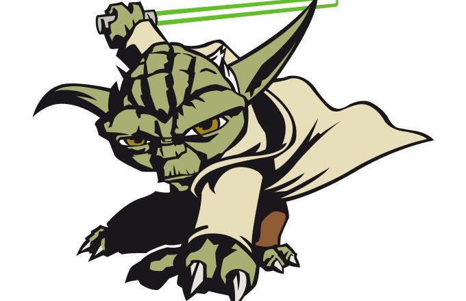 Yoda free clip art