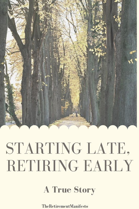 Late Start in saving for retirement