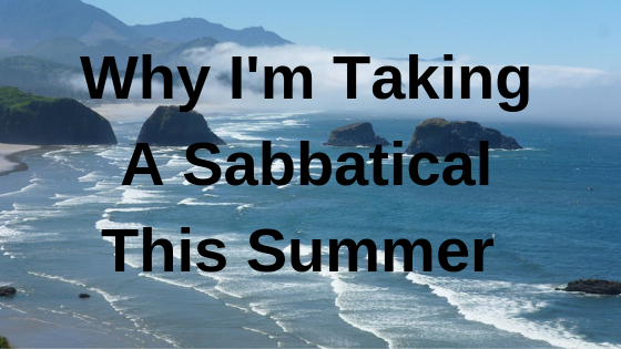 taking a sabbatical
