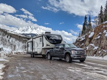 RV across the USA
