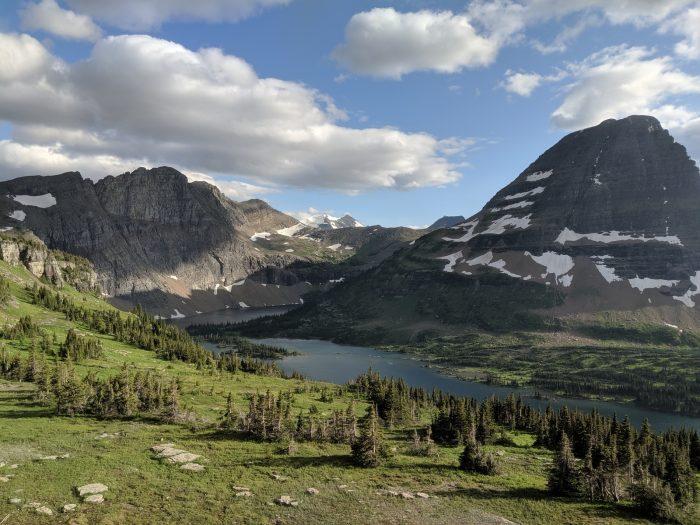 Gita in camper al Glacier National Park
