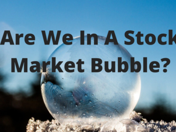 are we in a stock market bubble title
