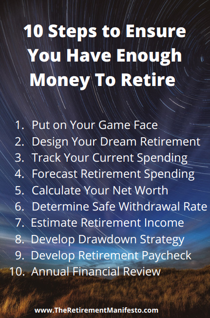 steps to have enough money to retire pinterest